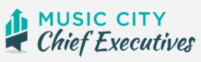 Music CIty Chief Executives Logo Dark